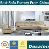 Modern Wholesale Furniture Leisure Sectional Leather Sofa (A27)