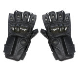 Police Tactical Gear Glove for Military with Anti-Strike (Half finger)