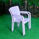 Leisure Lounge Patio Garden Morden Office Home Hotel Aluminum Rattan Arm Chair (J3741W)