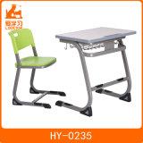 Original Design Student Use Modern School Classroom Desk with Wooden Top for School Furniture