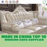 Luxury European Royal Italian Leather Chesterfield Living Room Sofa