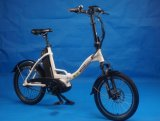 2018 New Model Foldable Electric Bike with Central Motor