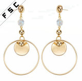 Europe Style Unique Design Crystal Fancy Drop Earrings Jewelry
