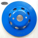 100-180mm Diamond Double Row Grinding Cup Wheel for Stone and Concrete