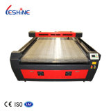 CO2 Laser Cutting Engraving Machine with Auto Feeding Camera Computerized Embroidery Textile Leather Wool Felt Cotton Home Fabric Laser Cutting Machine Price