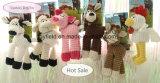 Pet Supply Product Stuffed Plush Dog Toy (Supply Chew Bite Squeaker)