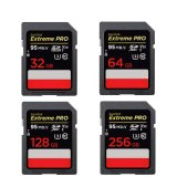 Extreme PRO SD Card 16GB/32g/64G/128g/256g Class10 Memory Card Support for Camera/DV/SLR
