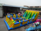 Big Inflatable Fun City Amusement Park Various Game Play for Kids