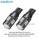 Extreme Bright Red T10 W5w LED Bulbs for Car Parking Lights