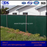 Plastic Slats Chain Link Garden Fence