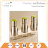 320ml Stainless Steel Bottle, Glass Vinegar Bottle with Dispenser