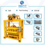 Cheap Manual Concrete Block Making Machine Vibrated Hollow Block Holland Brick Machine (Qtj4-40)