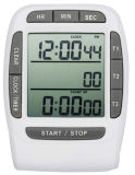 Amt204 Digital 3 Channel Timer Clock and Stopwatch