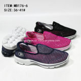 Latest Fashion Lady Slip on Mesh Sports Casual Shoes (MB176-6)