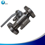 Full Bore Super Duplex Steel F51 Flanged Floating Ball Valve for Industrial Oil Refinery