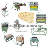Selling Bamboo Wood Toothpick Cutting Toothpicks Making Polishing Production Machine