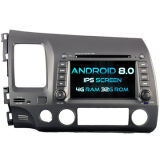 Witson Eight Core Android 8.0 Car DVD for Honda Civic 2006-2011 4G ROM 1080P Touch Screen 32GB ROM IPS Screen