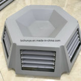 Evaporative Air Cooler Parts PP Air Duct 6 Sides Outlet