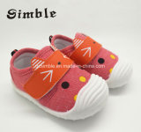 Latest Lovely Injection Shoes Baby Canvas Shoes Infant Shoes (17330)