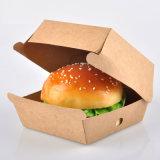 2020 New Design High Quality Fast Food Packaging Kraft Paper Hamburger Box