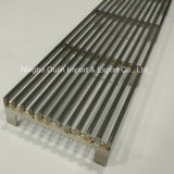 74mm Width SUS304 Stainless Steel Linear Shower Drain Cover Wedge Wire Grate