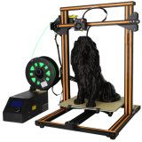 3D Printer with Heated Build Plate, Includes Micro SD Card and Sample PLA Filament