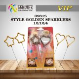 0981s-Star Shaped Heart Shaped Sparkler Indoor Toy Chinese Fireworks