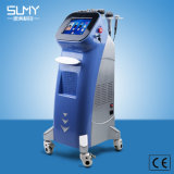 400W Output Power New Design 6 in 1 Ultrasonic Vacuum Cavitation RF Bio LED Slimming Beauty Machine (blue style)