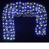 Wholesale Christmas Decorated Fiber Optic Garland Tt62012
