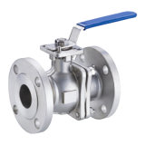 API150lb 2PC Flange End Material SS304 SS316 SS316L Ball Valve