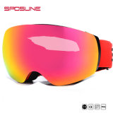 Wide HD Vision Spherical Anti-Fog OEM Custom Snow Ski Goggles Sunglasses