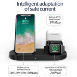 Hot Sell 3in1 Fast Wireless Charger for iPod, Iwatch and iPhone