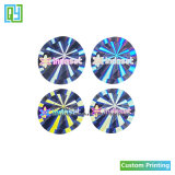Personalized Silver Pet 3D 2D Certificate Hologram Stickers Printing