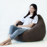 Soft Beanbag Simple Modern Lazy Bedroom Single Sofa Cotton Linen Chair