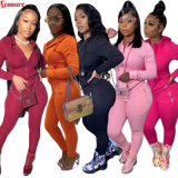 Newest Spring 2021 Lady and Woman Track Suit Jogger Clothing