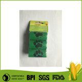 Pet Toilet Colorful Dog Supply Poop Waste PLA Plastic Bag