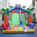 Commercial Kids Inflatable Playground Bouncy Castle Slide