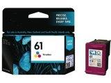 Original Ink Cartridge 61 Balck and Color for HP Inkjet Printer Consumable