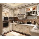 Custom Design Solid Wood/MDF Kitchen Cabinets Home Furniture (YH-KC1008)