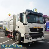 HOWO 15cbm Road Street Vacuum Street Cleaner Sweeper Truck