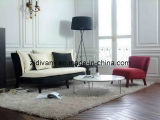 American Style Modern Wood Fabric Sofa Leather Sofa