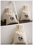 Eco Drawstring Cotton Bag for Promotion