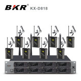 Kx-D818 UHF 8CH Bodypack Microphone System