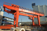50 Ton Electric Mobile Double Girder Hook Gantry Crane for Sale