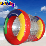 PVC inflatable roller ball for water park