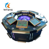 Jackpot Casino Gambling 8 Player Roulette Wheel Machine for Sale