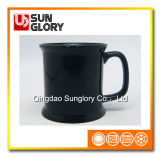 Black Glazed Porcelain Mug of Syb030