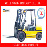3000kg Diesel Forklift Truck with Ce Certificate (CPC30)