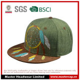 Fashion Embroidery Paper Straw Flat Brim Hats