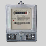 Transparent Glass Cover Single Phase Energy Kwh Meter